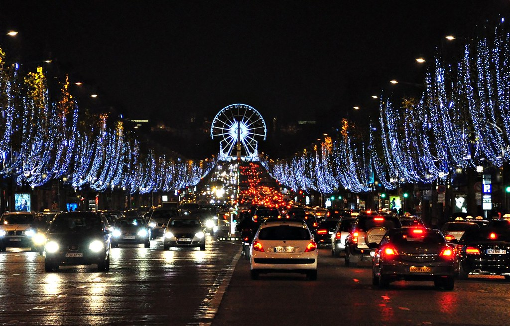 champs elysees and la grande roue on place de la concorde flickr. Black Bedroom Furniture Sets. Home Design Ideas