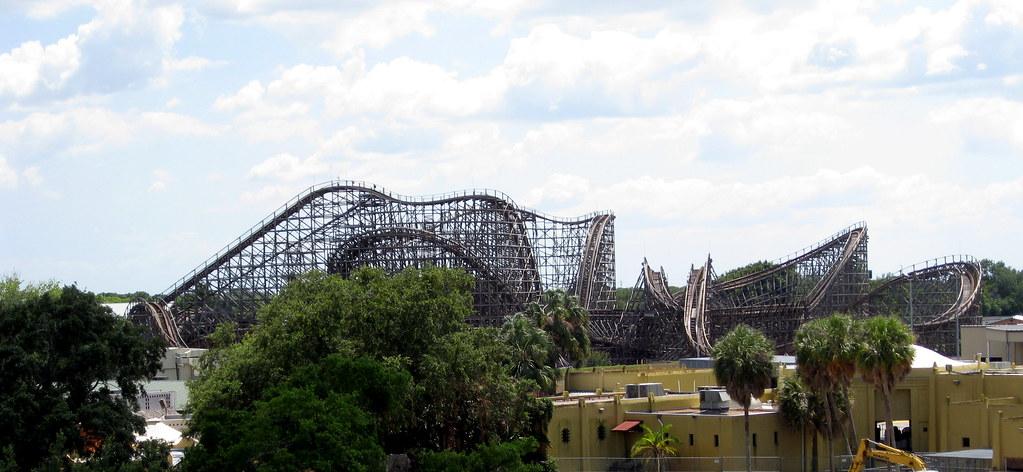 Busch Gardens   Skyride   View Of Gwazi Roller Coaster | Flickr