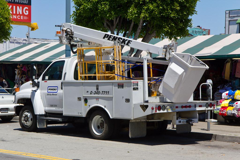 Image Result For Penske Bucket Truck Rental