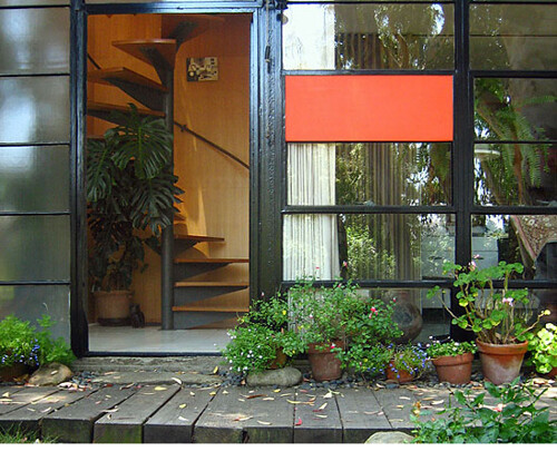 Eames House Front Door Images Of The Eames House Circa