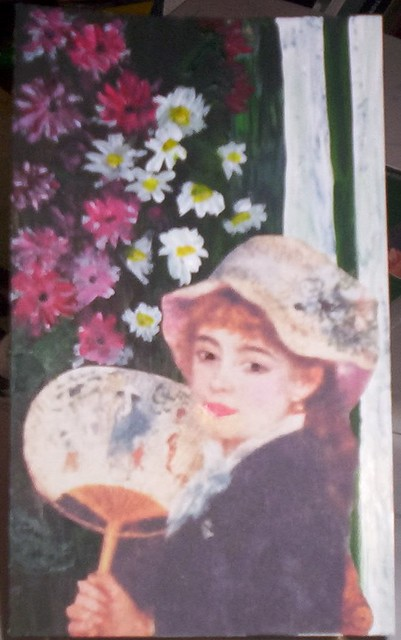 Traded To Suzee The Girl With A Fan By Auguste Renoir Ski Flickr