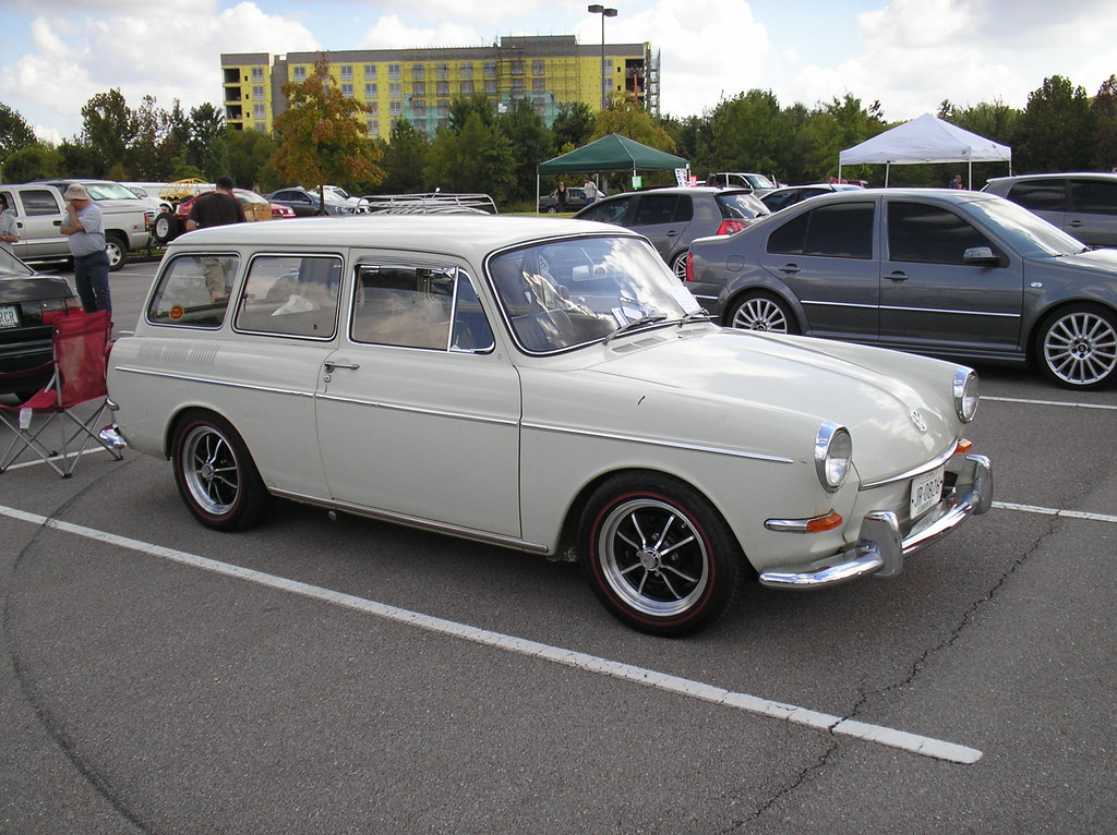 1966 Volkswagen Squareback Sedan Type 3 Owners Jim