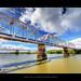 Crossing the Murray Bridge :: HDR