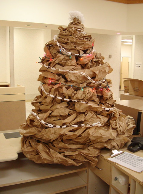 christmas tree of trash | zen Sutherland | Flickr