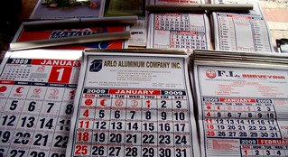calendars for sale | by counting chest bullets