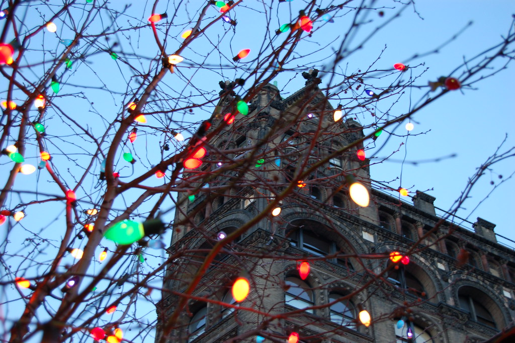 Christmas in new york christmas decoration on the for Decoration new york