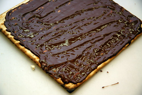 chocolate-covered matzo | by sassyradish
