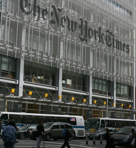 The New York Times building (new style) | by Robert Scoble