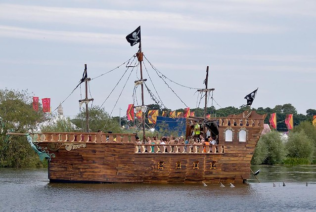 Superb The Pirate Ship, Secret Garden Party 2008 | Friday. View On U2026 | Flickr
