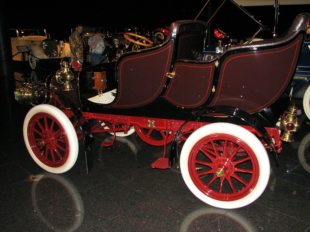 1906 cadillac model m tulip tourer early single cylinde for Snell motors used cars