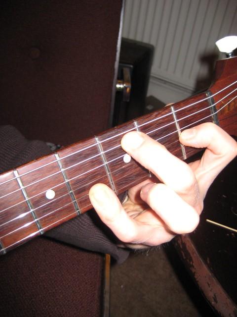 Hard Chord | A hard chord I made up (or discovered) on my Go… | Flickr