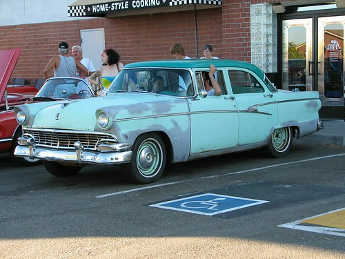 1956 ford customline 4 door sedan 39 240 caw 39 1 flickr for 1956 ford customline 2 door hardtop