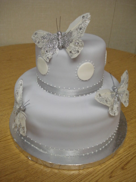 ... Lavendar Butterfly Baby Shower Cake | By Grace Of Cakes