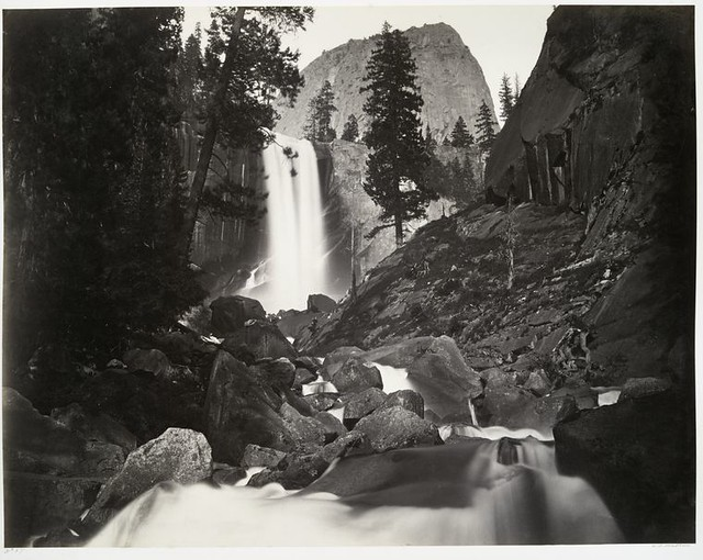 Vernal Falls, 300 ft., Yosemite.