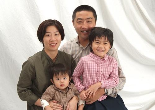 家族写真撮影 2