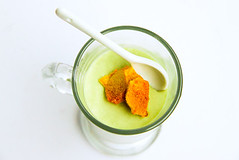 Matcha Mousse with Homemade Honeycomb | by raspberri cupcakes