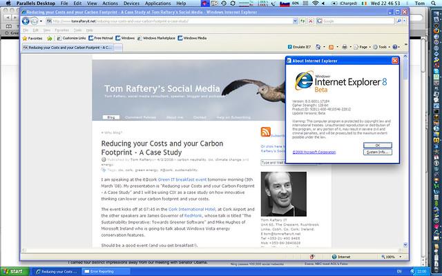 Assignment On Internet Explorer 8 For Mac