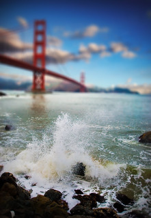 Golden Splash - Tilt Shift | by jamescastle3