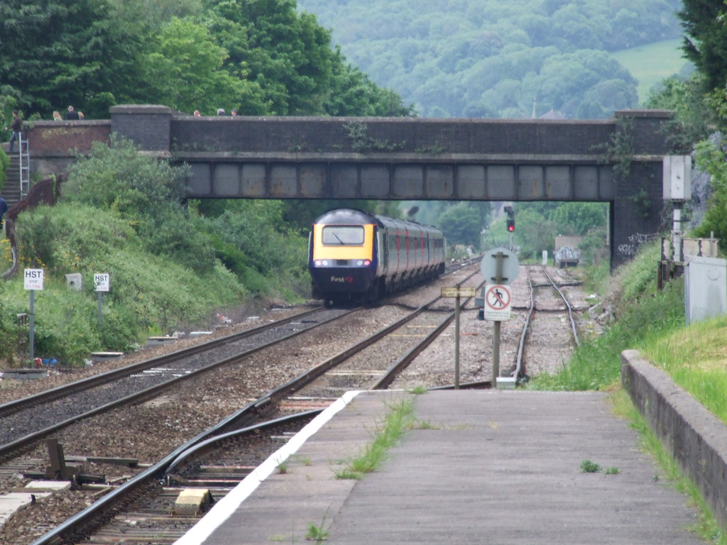 First Great Western HST At Oldfield Park Bath Flickr