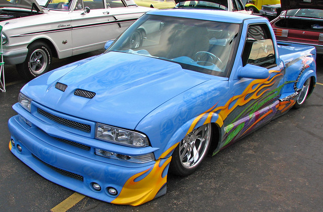 chevrolet s10 lowrider waverly ohio car show flickr. Black Bedroom Furniture Sets. Home Design Ideas
