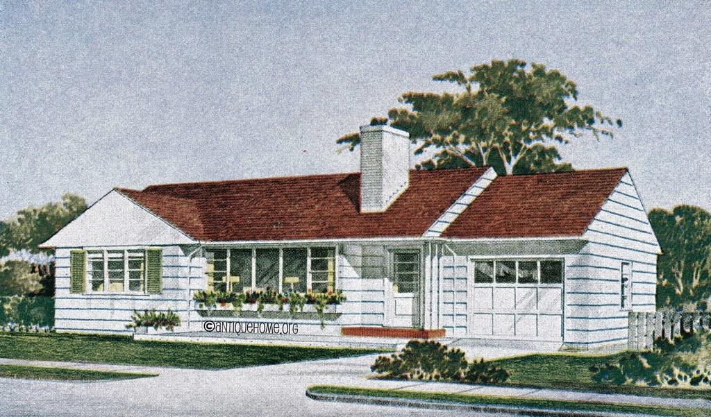 1950 s ranch style home plans homemade ftempo for 1950 bungalow house plans