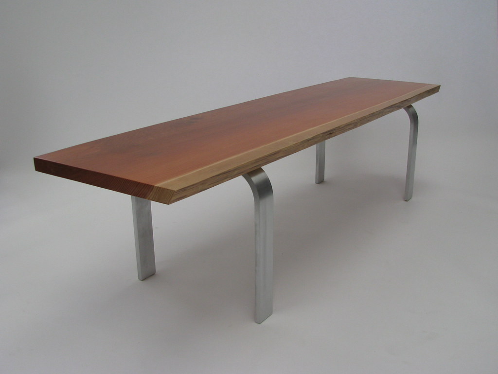 Redwood Coffee Table Aluminum Framed Coffee Table Top Is Flickr
