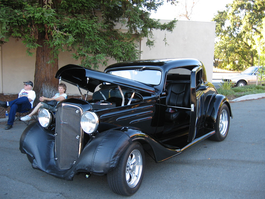 Danville Car Show >> 1934 Chevrolet Coupe | Hot Summer Nights Car Show, Downtown … | Flickr