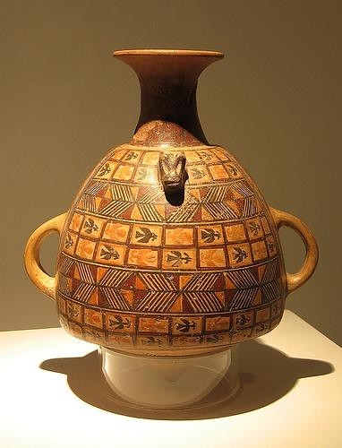Ceramica Inca Beautiful Vase Museum In Peru