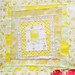 Yellow Squares Quilt Block 7