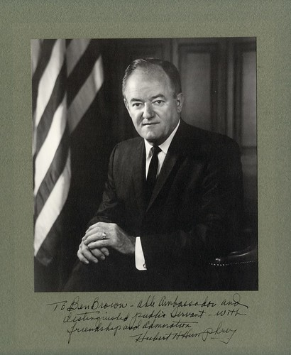 Hubert H. Humphrey | by Wofford Archives