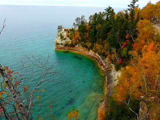 Miners Castle in autumn color | by mtsn