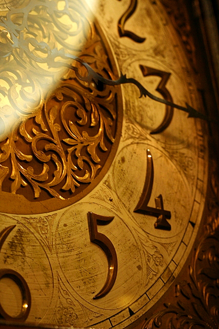Grandfather Clock Face Waters Building Explore 4 8 08 2828