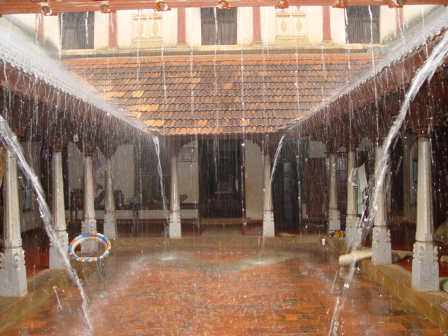 A house in Karaikudi | Rain in Karaikudi | Haripriya | Flickr