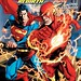 The Flash Rebirth #3 (2009) - Fifth Superman vs Barry Allen Flash race