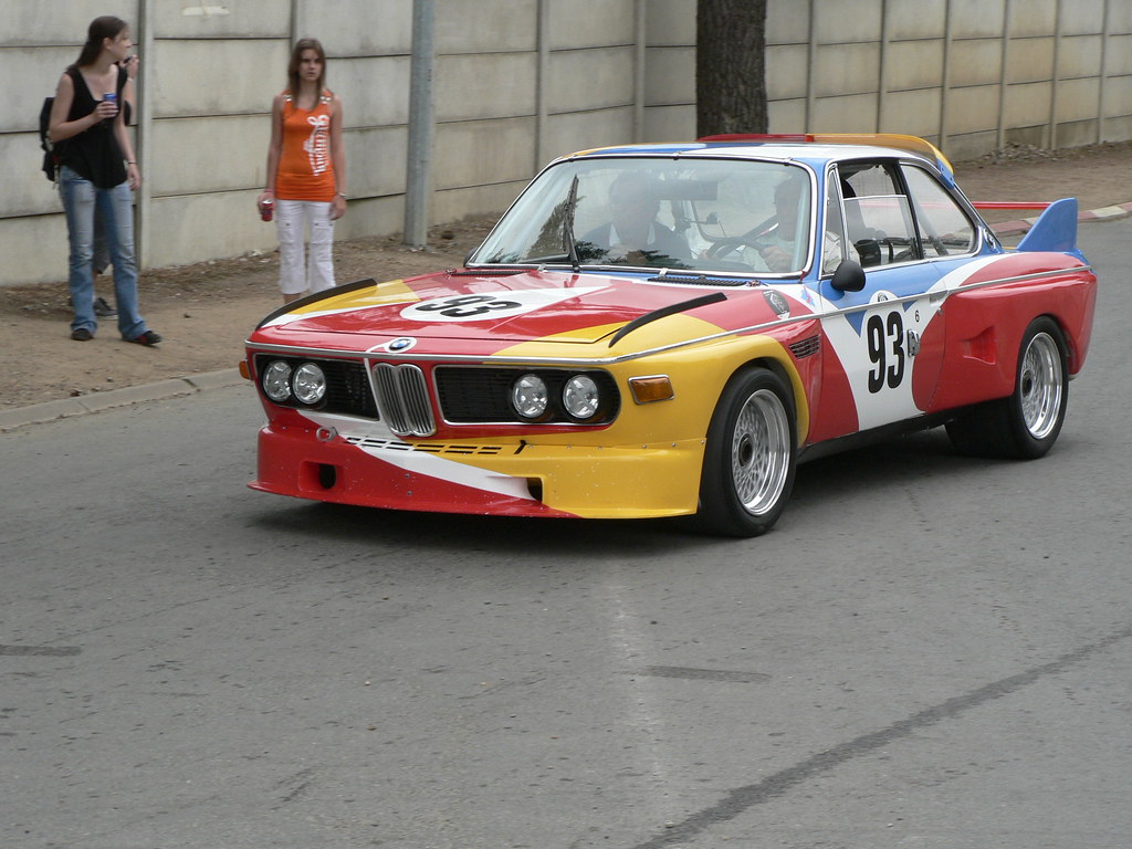 BMW 3.0 CSL Calder (Art Car) - Le Mans Classic 2006   Flickr
