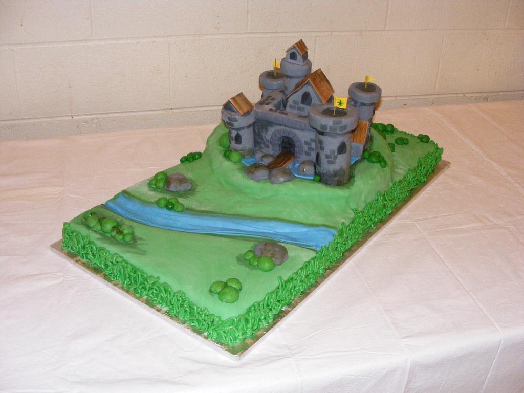 Castle Cake Pan D
