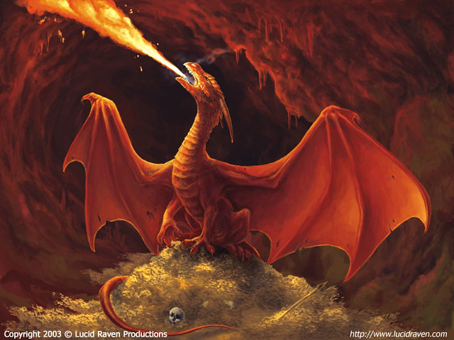 Red Dragons Treasure Lucarios Servant Flickr
