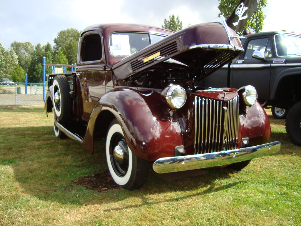 1940 ford 3 4 ton pickup truck cougar club claw in car. Black Bedroom Furniture Sets. Home Design Ideas