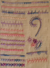 Palestrina Knots with some Sorbello Knots | by stitchingbushwalker