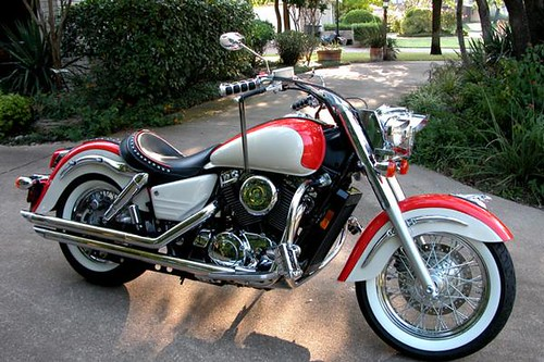 1999 Honda Shadow Aero 1100 By Garywclark Www
