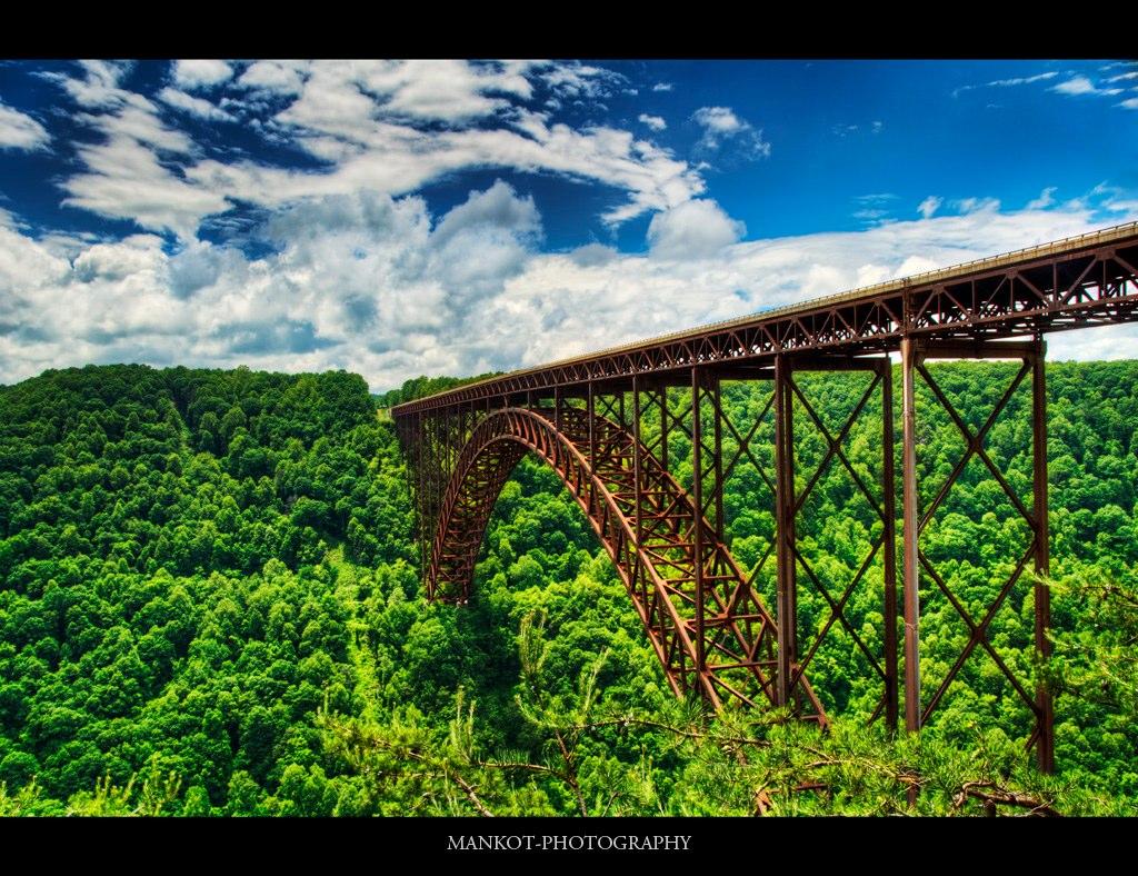 New River Bridge West Virginia New River Gorge Bridge West