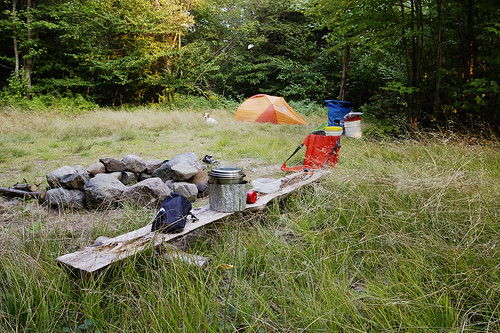 Camp At Clear Pond (Sept 2007) | by Mountain Visions