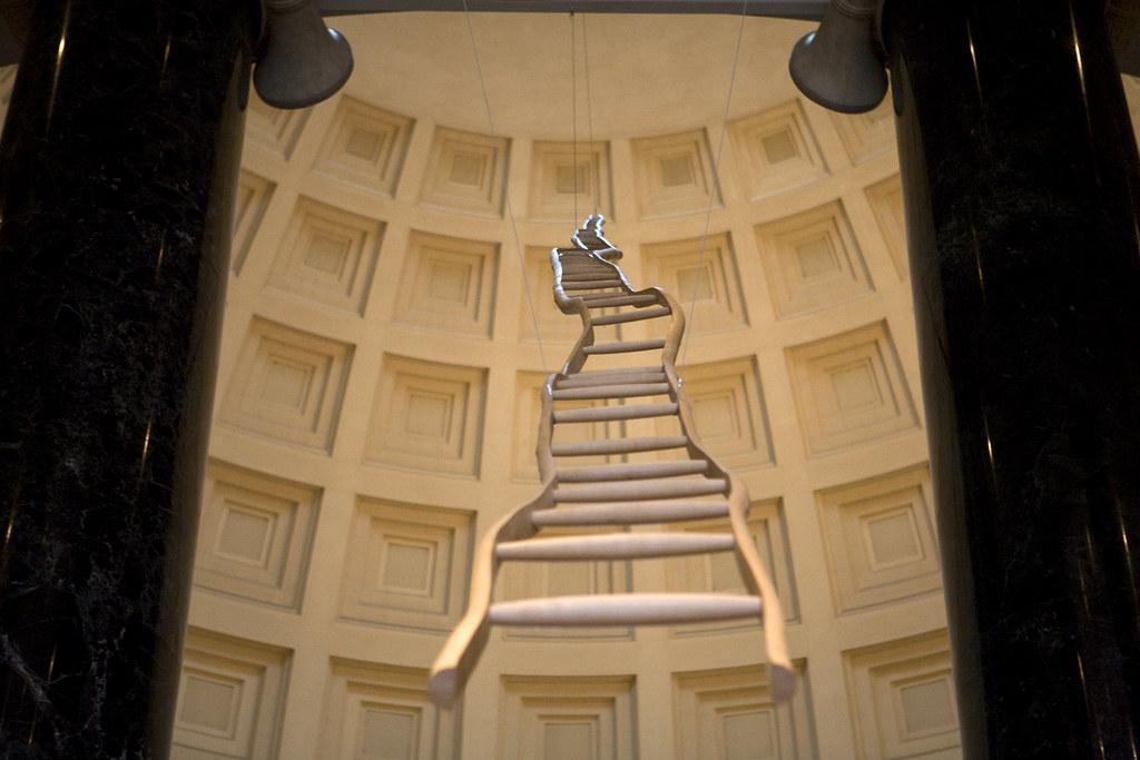 Martin Puryear: Ladder for Booker T. Washington, National … | Flickr