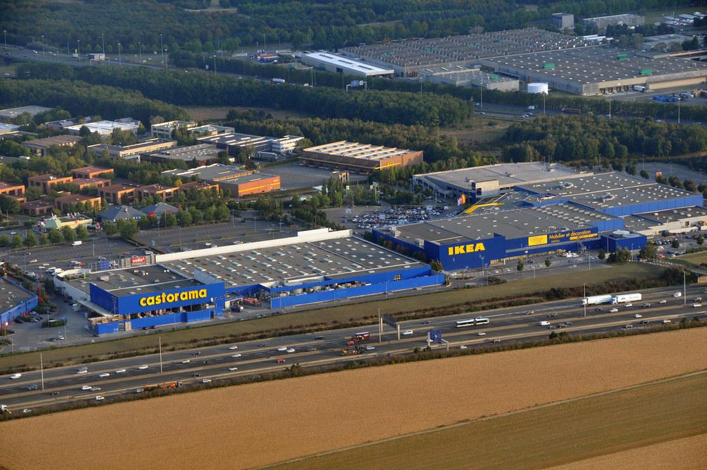 Castorama et ikea dans une zone industrielle cot de l 39 a - Castorama paris nord ...