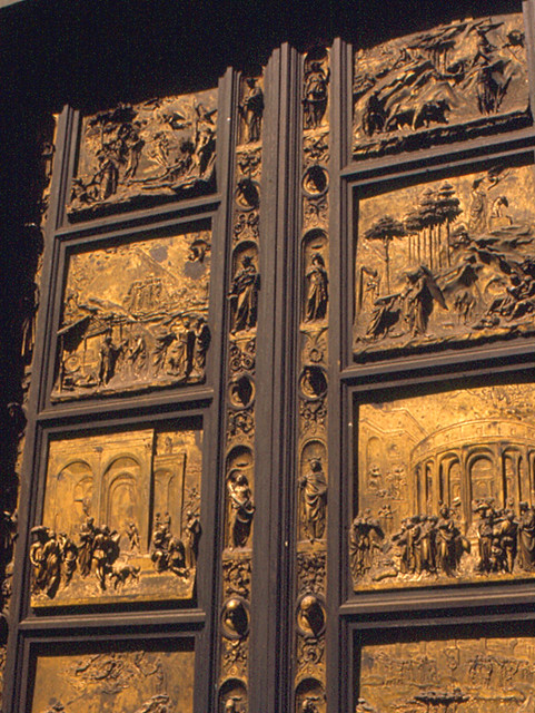 ... Florence - Baptistry Doors   by roger4336 & Florence - Baptistry Doors   These are the East Doors of theu2026   Flickr