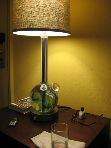 Bong lamp | Room in Hotel Durant | richardgriscom | Flickr