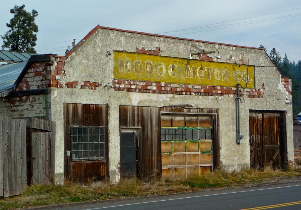 Modoc Motors 1 Chiloquin Oregon Downtown Chiloquin