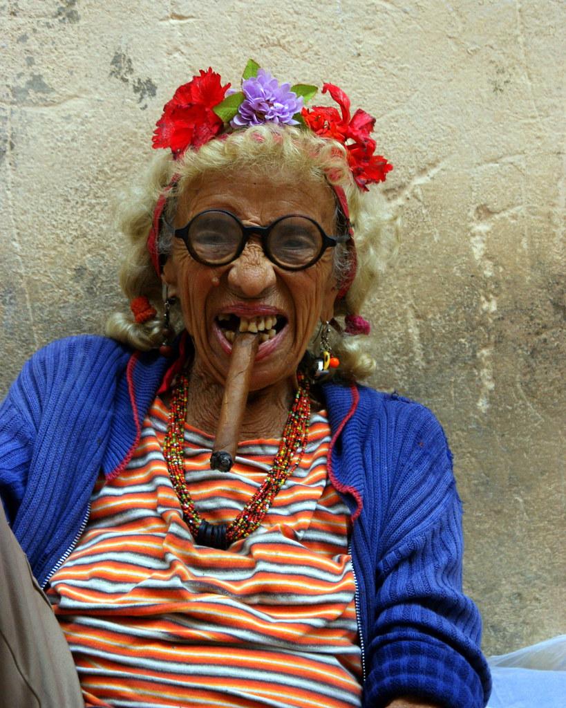 Smoking Women  Old Women  Martin Abegglen  Flickr-3842