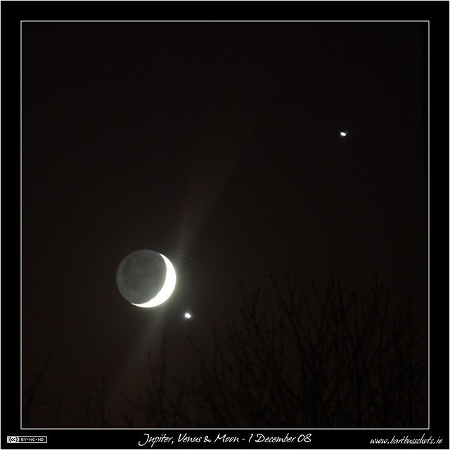 Jupiter Venus Moon Conjunction | The conjunction of the ...