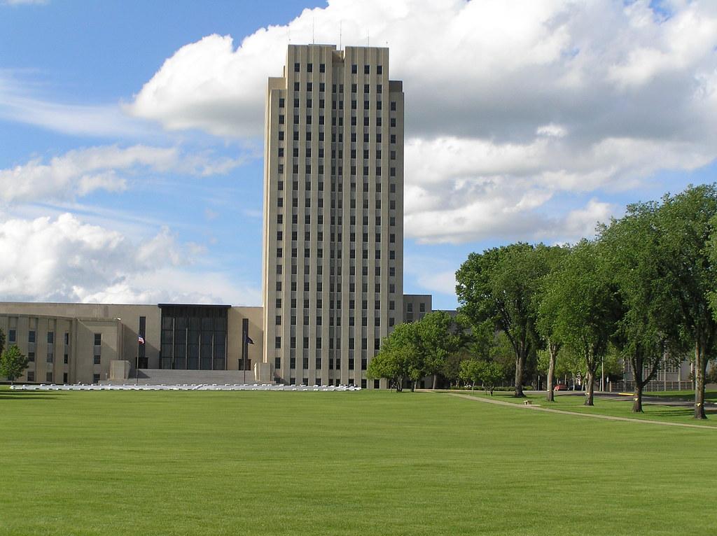 Bismarck ND  The Original North Dakota State Capitol